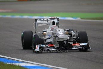 © 2012 Octane Photographic Ltd. German GP Hockenheim - Saturday 21st July 2012 - F1 Qualifying session 1. Sauber C31 - Kamui Kobayashi. Digital Ref : 0417lw1d3310