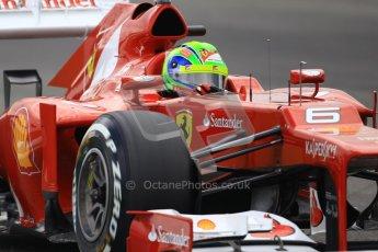 © 2012 Octane Photographic Ltd. German GP Hockenheim - Saturday 21st July 2012 - F1 Qualifying session 1. Ferrari F2012 - Felipe Massa. Digital Ref : 0417lw1d3336