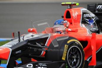 © 2012 Octane Photographic Ltd. German GP Hockenheim - Saturday 21st July 2012 - F1 Qualifying. Marussia MR01 - Charles Pic. Digital Ref : 0417lw1d3529