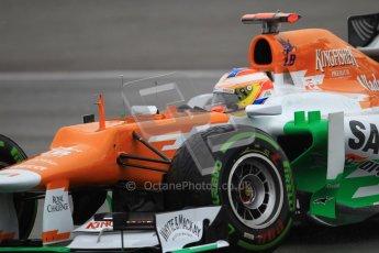 © 2012 Octane Photographic Ltd. German GP Hockenheim - Saturday 21st July 2012 - F1 Qualifying. Force India VJM05 - Paul di Resta. Digital Ref : 0417lw1d3691