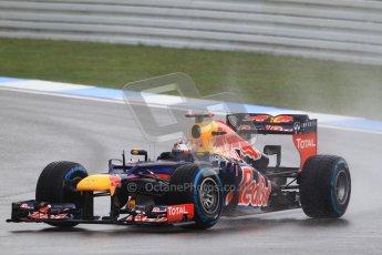 © 2012 Octane Photographic Ltd. German GP Hockenheim - Saturday 21st July 2012 - F1 Qualifying. Red Bull RB8 - Sebastian Vettel. Digital Ref : 0417lw1d3856