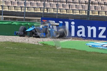 © 2012 Octane Photographic Ltd. German GP Hockenheim - Saturday 21st July 2012 - GP2 Race 1 - Ocean Racing Technology - Victor Guerin. Digital Ref : 0419lw1d4488