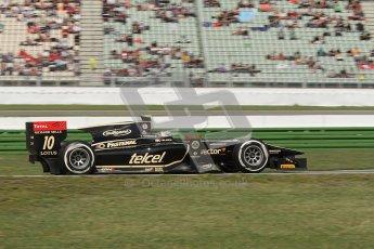© 2012 Octane Photographic Ltd. German GP Hockenheim - Saturday 21st July 2012 - GP2 Race 1 - Lotus GP - Esteban Gutierrez. Digital Ref : 0419lw7d8298