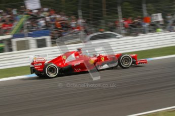 © 2012 Octane Photographic Ltd. German GP Hockenheim - Saturday 21st July 2012 - F1 Practice 3. Ferrari F2012 - Fernando Alonso. Digital Ref : 0416lw7d6473