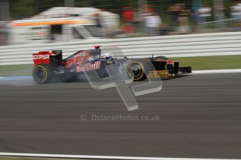 © 2012 Octane Photographic Ltd. German GP Hockenheim - Saturday 21st July 2012 - F1 Practice 3. Toro Rosso STR7 - Daniel Ricciardo. Digital Ref : 0416lw7d6531