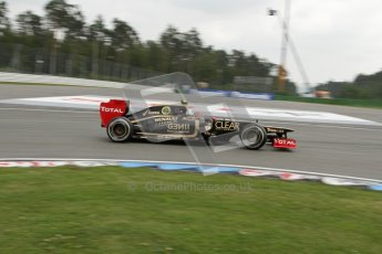© 2012 Octane Photographic Ltd. German GP Hockenheim - Saturday 21st July 2012 - F1 Practice 3. Lotus E20 - Romain Grosjean. Digital Ref : 0416lw7d7339