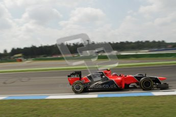 © 2012 Octane Photographic Ltd. German GP Hockenheim - Saturday 21st July 2012 - F1 Practice 3. Marussia MR01 - Charles Pic. Digital Ref : 0416lw7d7545