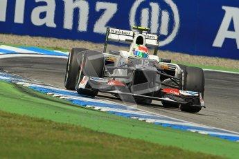 © 2012 Octane Photographic Ltd. German GP Hockenheim - Sunday 22nd July 2012 - F1 Race. Sauber C31 - Sergio Perez. Digital Ref : 0423lw1d5479