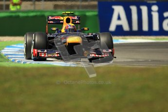 © 2012 Octane Photographic Ltd. German GP Hockenheim - Sunday 22nd July 2012 - F1 Race. Red Bull RB8 - Mark Webber. Digital Ref : 0423lw1d5603