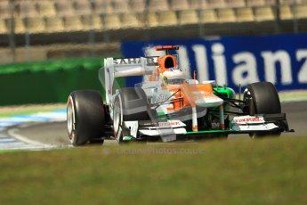 © 2012 Octane Photographic Ltd. German GP Hockenheim - Sunday 22nd July 2012 - F1 Race. Force India VJM05 - Paul di Resta. Digital Ref : 0423lw1d5669