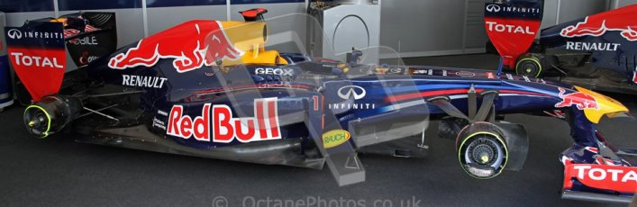 © 2012 Octane Photographic Ltd/ Carl Jones. Red Bull Racing, Goodwood Festival of Speed. Digital Ref: 0388CJ7D5820