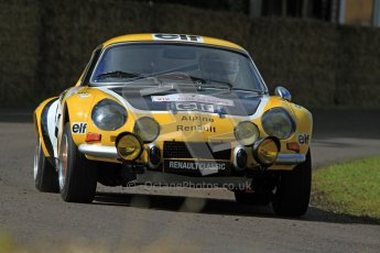 © 2012 Octane Photographic Ltd/ Carl Jones. Renault Alpine, Goodwood Festival of Speed. Digital Ref: 0388cj7d6146