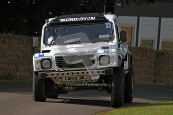 © 2012 Octane Photographic Ltd/ Carl Jones. Race 2 Recovery, Goodwood Festival of Speed. Digital Ref: 0388CJ7D6164