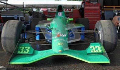 © 2012 Octane Photographic Ltd/ Carl Jones. Jordan 191, Goodwood Festival of Speed, Historic F1. Digital Ref: 0389cj7d6814