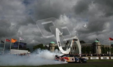 © 2012 Octane Photographic Ltd/ Carl Jones. Red Bull NASCAR, Goodwood Festival of Speed. Digital Ref: 0389cj7d7003