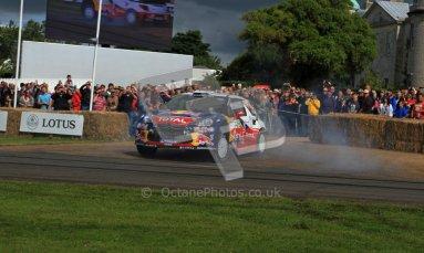 © 2012 Octane Photographic Ltd/ Carl Jones. Citroen DS3 WRC, Goodwood Festival of Speed. Digital Ref: 0389cj7d7064