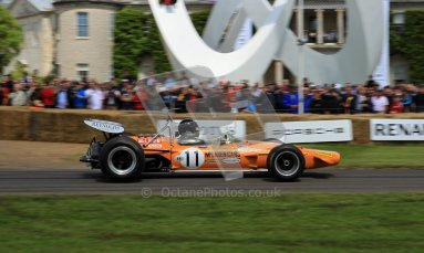 © 2012 Octane Photographic Ltd/ Carl Jones. Goodwood Festival of Speed, McLaren Historic F1. Digital Ref: