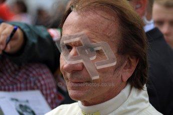 © 2012 Octane Photographic Ltd/ Carl Jones.  Emerson Fittipaldi, Goodwood Festival of Speed, Historic F1. Digital Ref: 0389cj7d7731