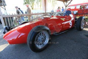 World © 2012 Octane Photographic Ltd. Goodwood Revival. September 15th 2012. Ferrari Historic F1. Digital Ref : 0520cb1d9332