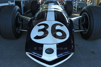 World © 2012 Octane Photographic Ltd. Goodwood Revival. September 15th 2012. Dan Gurney Eagle Westlake Historic F1. Digital Ref : 0520cb1d9336