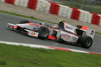 © Octane Photographic Ltd. GP2 Autumn Test – Circuit de Catalunya – Barcelona. Tuesday 30th October 2012 Afternoon session - Rapax - Stefano Coletti. Digital Ref : 0552cb1d6545