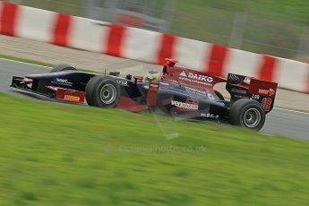 © Octane Photographic Ltd. GP2 Autumn Test – Circuit de Catalunya – Barcelona. Tuesday 30th October 2012 Afternoon session - Venezuela GP Lazarus - Rene Binder. Digital Ref : 0552cb1d6573
