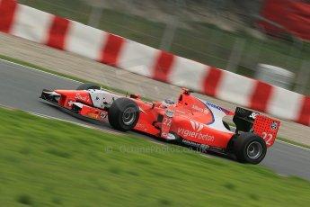 © Octane Photographic Ltd. GP2 Autumn Test – Circuit de Catalunya – Barcelona. Tuesday 30th October 2012 Afternoon session - Arden International - Simon Trummer. Digital Ref : 0552cb1d6631