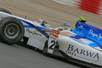 © Octane Photographic Ltd. GP2 Autumn Test – Circuit de Catalunya – Barcelona. Tuesday 30th October 2012 Afternoon session - Barwa Addax Team - Adrian Quaife-Hobbs. Digital Ref : 0552cb1d6808