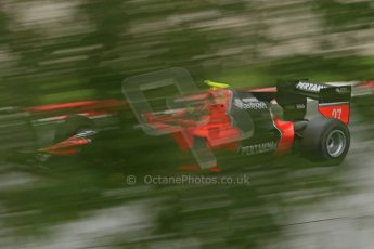 © Octane Photographic Ltd. GP2 Autumn Test – Circuit de Catalunya – Barcelona. Tuesday 30th October 2012 Afternoon session - Carlin - Rio Haryanto. Digital Ref : 0552cb1d6852