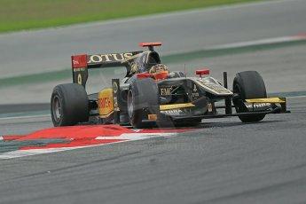 © Octane Photographic Ltd. GP2 Autumn Test – Circuit de Catalunya – Barcelona. Tuesday 30th October 2012 Afternoon session - Lotus GP - Daniel Abt. Digital Ref : 0552cb1d6884