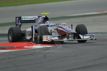 © Octane Photographic Ltd. GP2 Autumn Test – Circuit de Catalunya – Barcelona. Tuesday 30th October 2012 Afternoon session - Trident Racing - Julian Leal. Digital Ref : 0552cb1d6900