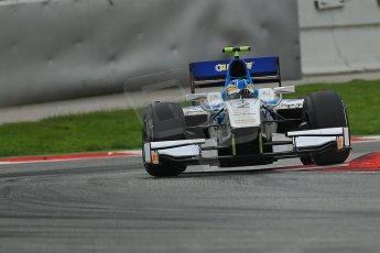 © Octane Photographic Ltd. GP2 Autumn Test – Circuit de Catalunya – Barcelona. Tuesday 30th October 2012 Afternoon session - Barwa Addax Team - Adrian Quaife-Hobbs. Digital Ref : 0552cb1d7140