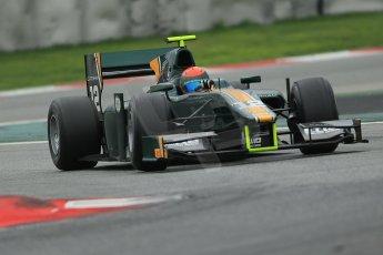 © Octane Photographic Ltd. GP2 Autumn Test – Circuit de Catalunya – Barcelona. Tuesday 30th October 2012 Afternoon session - Caterham Racing - Alexander Rossi. Digital Ref : 0552cb1d7155