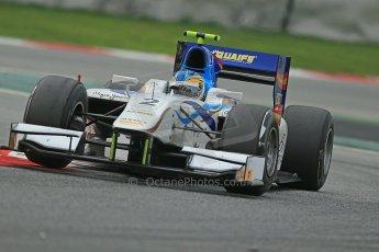 © Octane Photographic Ltd. GP2 Autumn Test – Circuit de Catalunya – Barcelona. Tuesday 30th October 2012 Afternoon session - Barwa Addax Team - Adrian Quaife-Hobbs. Digital Ref : 0552cb1d7232
