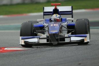 © Octane Photographic Ltd. GP2 Autumn Test – Circuit de Catalunya – Barcelona. Tuesday 30th October 2012 Afternoon session - Trident Racing - Marcus Ericsson. Digital Ref : 0552cb1d7249
