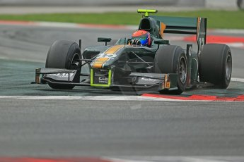 © Octane Photographic Ltd. GP2 Autumn Test – Circuit de Catalunya – Barcelona. Tuesday 30th October 2012 Afternoon session - Caterham Racing - Alexander Rossi. Digital Ref : 0552cb1d7303