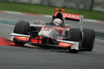 © Octane Photographic Ltd. GP2 Autumn Test – Circuit de Catalunya – Barcelona. Tuesday 30th October 2012 Afternoon session - Rapax - Daniel Juncadella. Digital Ref : 0552cb1d7434