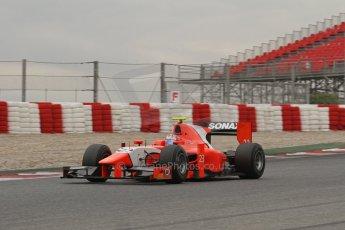 © Octane Photographic Ltd. GP2 Autumn Test – Circuit de Catalunya – Barcelona. Tuesday 30th October 2012 Afternoon session - Arden International - Mitch Evans. Digital Ref : 0552lw7d0584