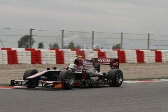 © Octane Photographic Ltd. GP2 Autumn Test – Circuit de Catalunya – Barcelona. Tuesday 30th October 2012 Afternoon sessionVenezuela GP Lazarus - Kevin Giovesi. Digital Ref : 0552lw7d0645