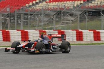 © Octane Photographic Ltd. GP2 Autumn Test – Circuit de Catalunya – Barcelona. Tuesday 30th October 2012 Afternoon session - iSport International - Facundo Regalia. Digital Ref : 0552lw7d0687