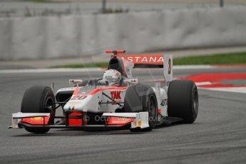 © Octane Photographic Ltd. GP2 Autumn Test – Circuit de Catalunya – Barcelona. Tuesday 30th October 2012 Afternoon session - Rapax - Daniel Juncadella. Digital Ref : 0552lw7d0934