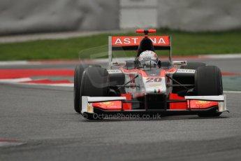 © Octane Photographic Ltd. GP2 Autumn Test – Circuit de Catalunya – Barcelona. Tuesday 30th October 2012 Afternoon session - Rapax - Daniel Juncadella. Digital Ref : 0552lw7d1098