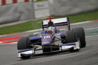 © Octane Photographic Ltd. GP2 Autumn Test – Circuit de Catalunya – Barcelona. Tuesday 30th October 2012 Afternoon session - Trident Racing - Marcus Ericsson. Digital Ref : 0552lw7d1224