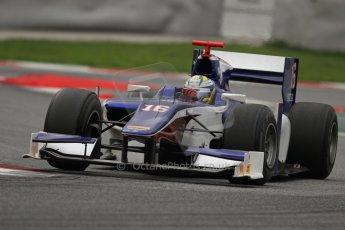 © Octane Photographic Ltd. GP2 Autumn Test – Circuit de Catalunya – Barcelona. Tuesday 30th October 2012 Afternoon session - Trident Racing - Marcus Ericsson. Digital Ref : 0552lw7d1298