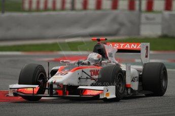 © Octane Photographic Ltd. GP2 Autumn Test – Circuit de Catalunya – Barcelona. Tuesday 30th October 2012 Afternoon session - Rapax - Daniel Juncadella. Digital Ref : 0552lw7d1314
