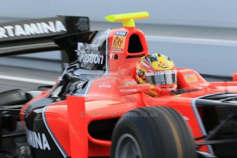 © Octane Photographic Ltd. GP2 Autumn Test – Circuit de Catalunya – Barcelona. Tuesday 30th October 2012 Morning session - Carlin - Rio Haryanto. Digital Ref : 0551cb1d5689