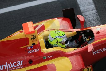 © Octane Photographic Ltd. GP2 Autumn Test – Circuit de Catalunya – Barcelona. Tuesday 30th October 2012 Morning session - Racing Engineering - Andre Negrao. Digital Ref : 0551cb1d5714