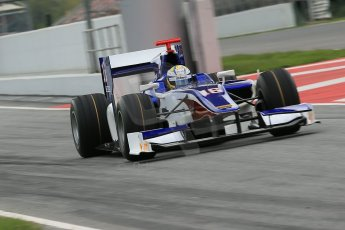 © Octane Photographic Ltd. GP2 Autumn Test – Circuit de Catalunya – Barcelona. Tuesday 30th October 2012 Morning session - Trident Racing - Marcus Ericsson. Digital Ref : 0551cb1d5813
