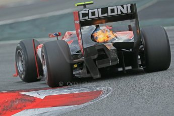 © Octane Photographic Ltd. GP2 Autumn Test – Circuit de Catalunya – Barcelona. Tuesday 30th October 2012 Morning session - Scuderia Coloni - Luca Filippi. Digital Ref : 0551cb1d5883