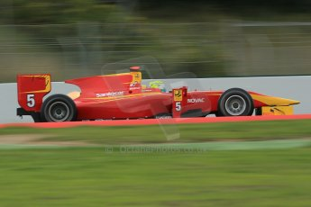 © Octane Photographic Ltd. GP2 Autumn Test – Circuit de Catalunya – Barcelona. Tuesday 30th October 2012 Morning session - Racing Engineering - Andre Negrao. Digital Ref : 0551cb1d6199